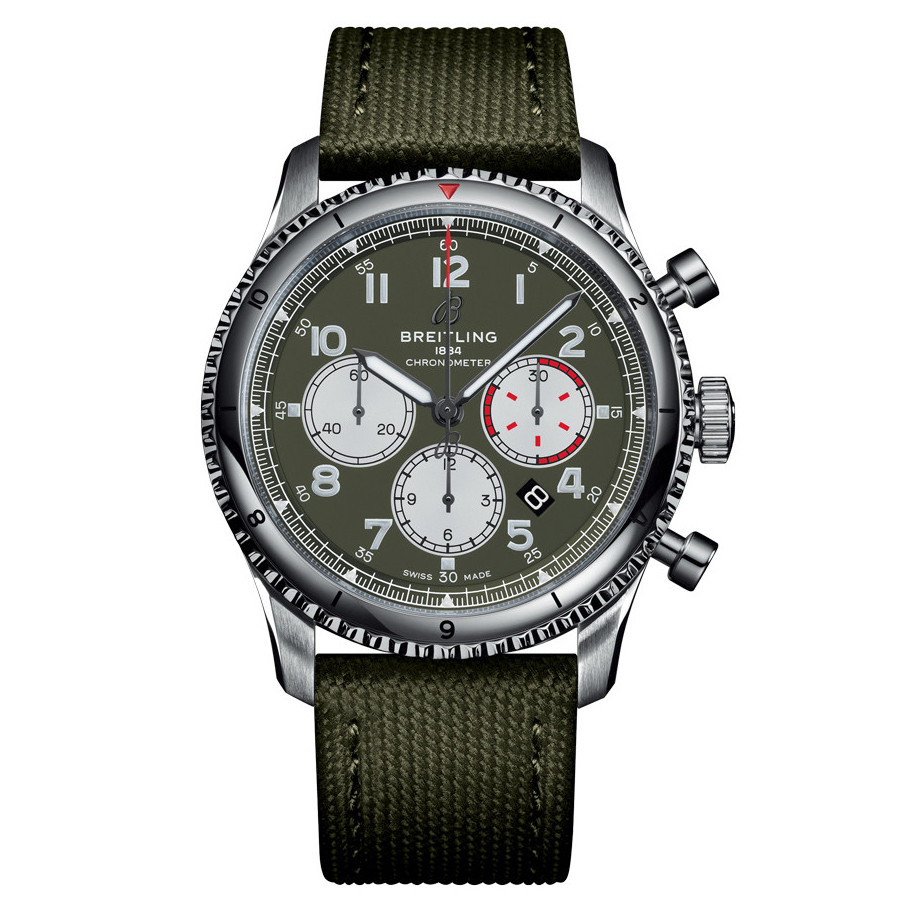 Aviator 8 B01 Chronograph Curtiss Warhawk (AB01192A1L1X1)