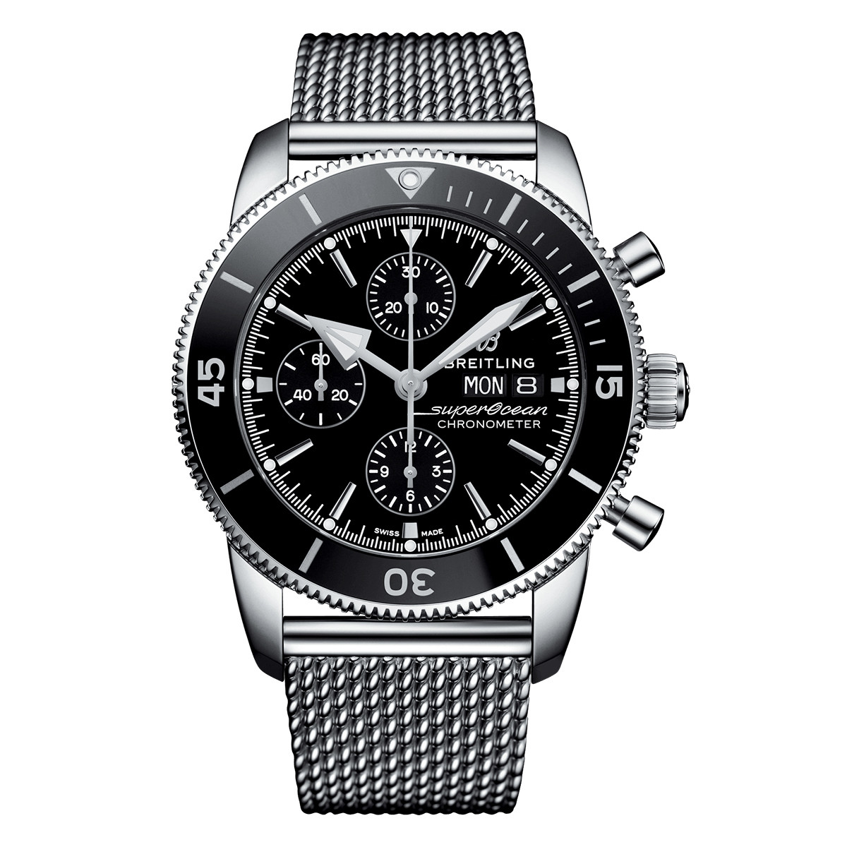 Superocean Heritage II Chronograph 44 (A13313121B1A1)