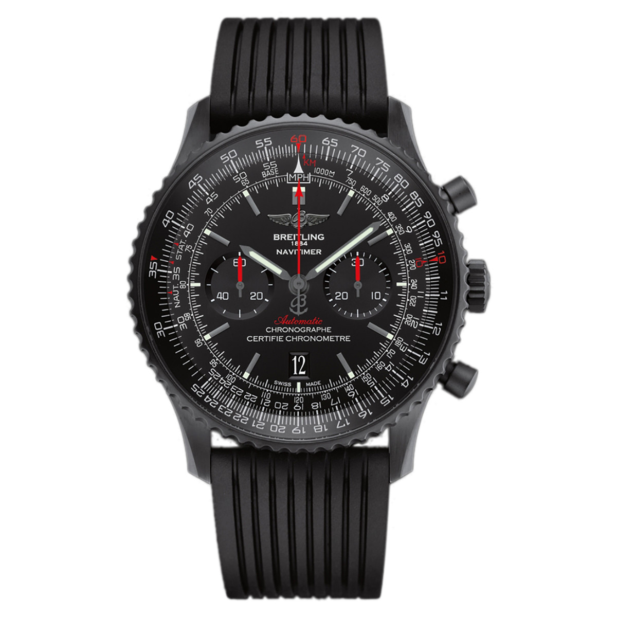 Navitimer 01 46 Black Steel (MB012822/BE51)
