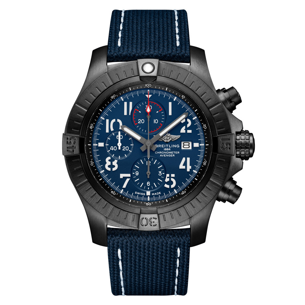 Super Avenger Chronograph 48 Night Mission (V13375101C1X2)