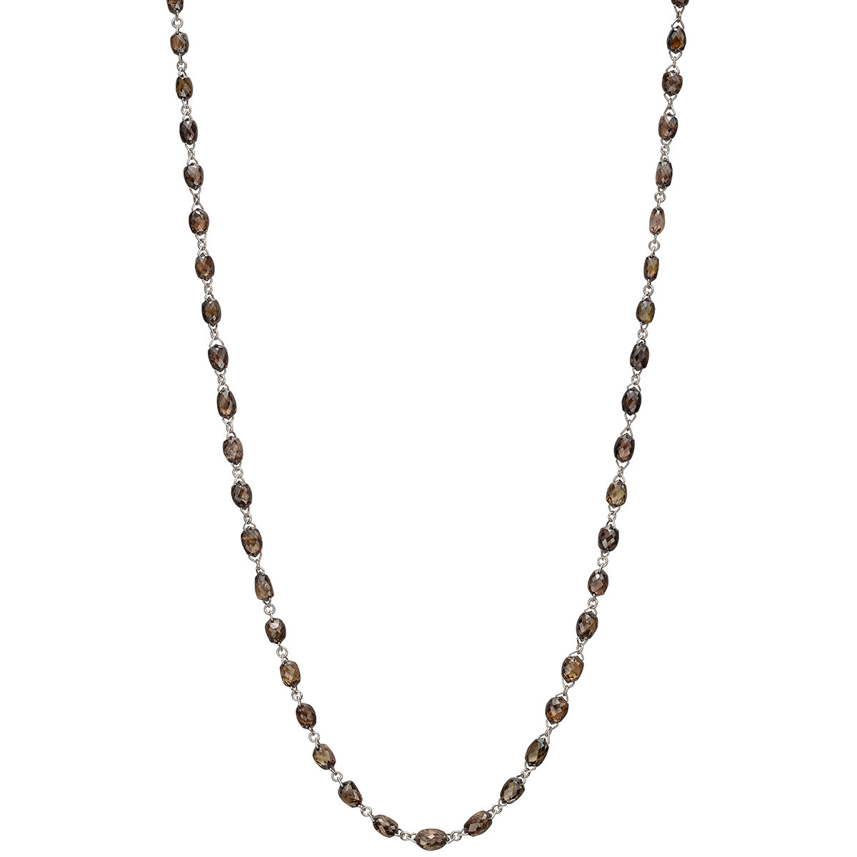 Brown Diamond Chain Necklace (22.88 ct tw)