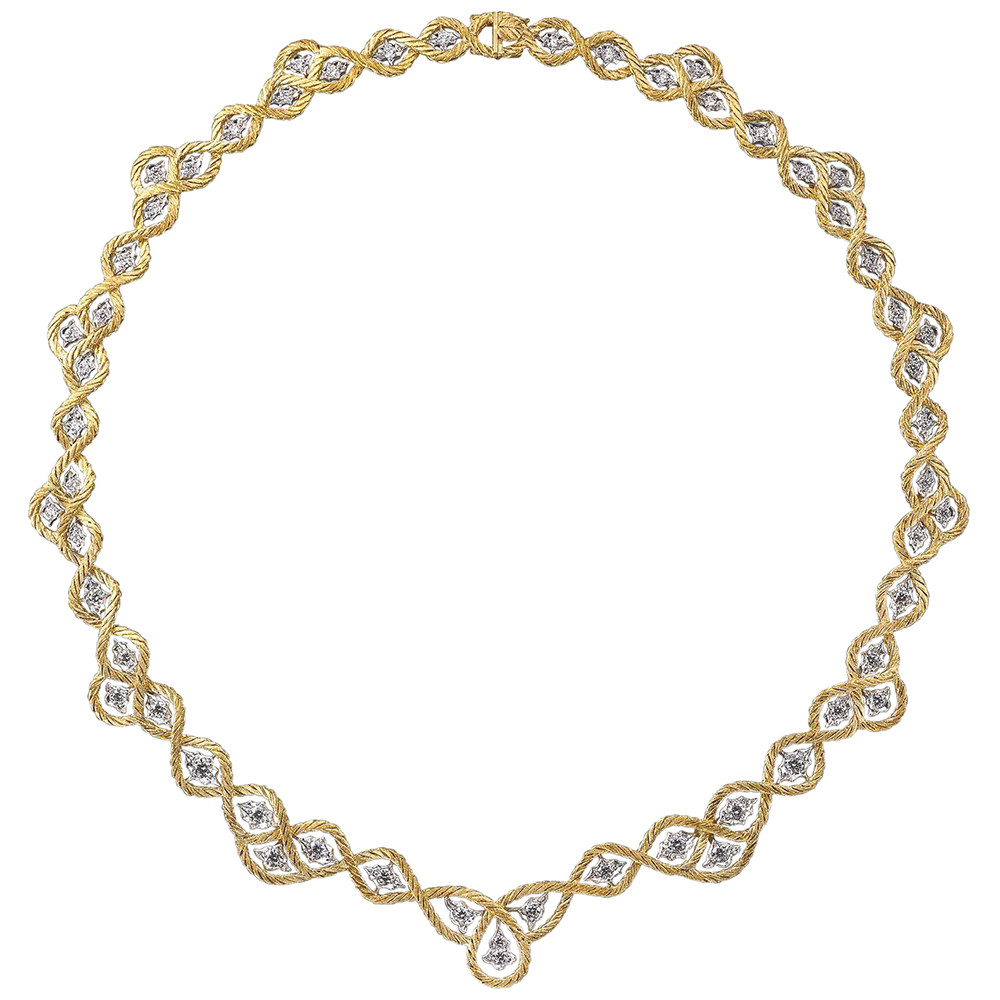 "18k Gold & Diamond ""Etoilée"" Necklace"