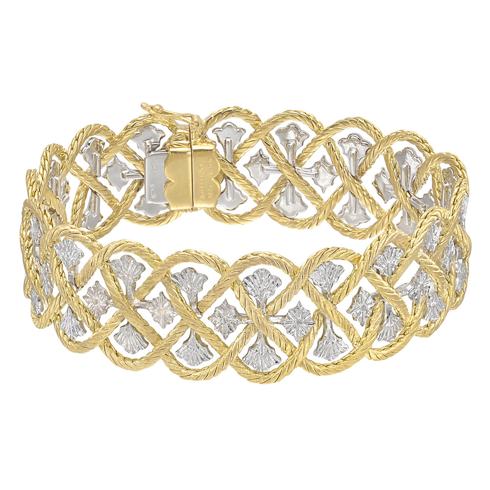 "18k Yellow & White Gold ""Etoilee"" Bracelet"