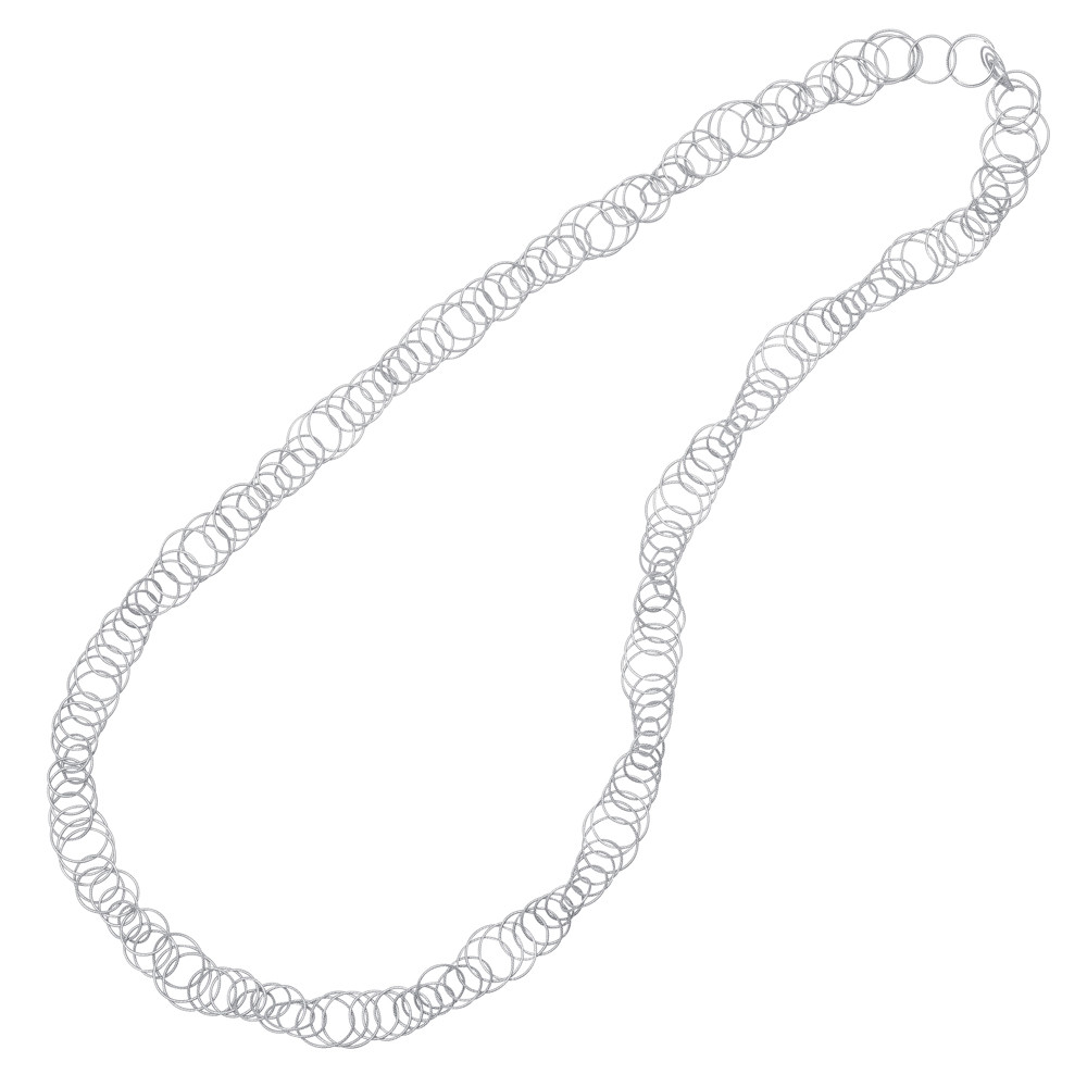 "18k White Gold ""Hawaii"" Long Necklace"