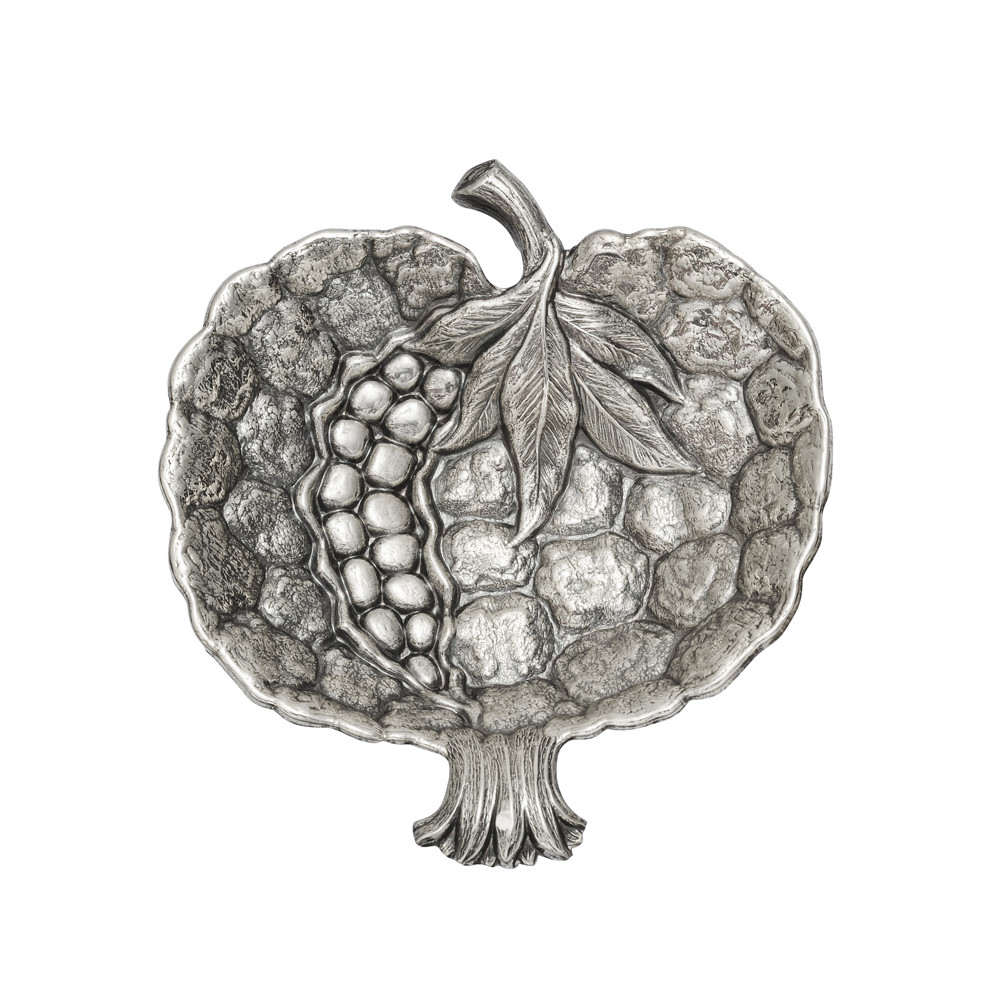 Small Silver Pomegranate Dish