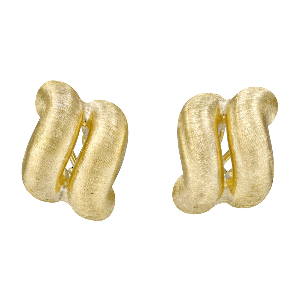 "18k Gold ""San Marco"" Earrings"