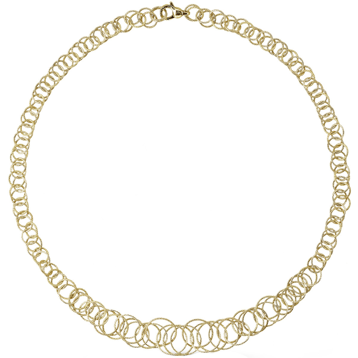"18k Yellow Gold ""Hawaii"" Graduated Necklace"