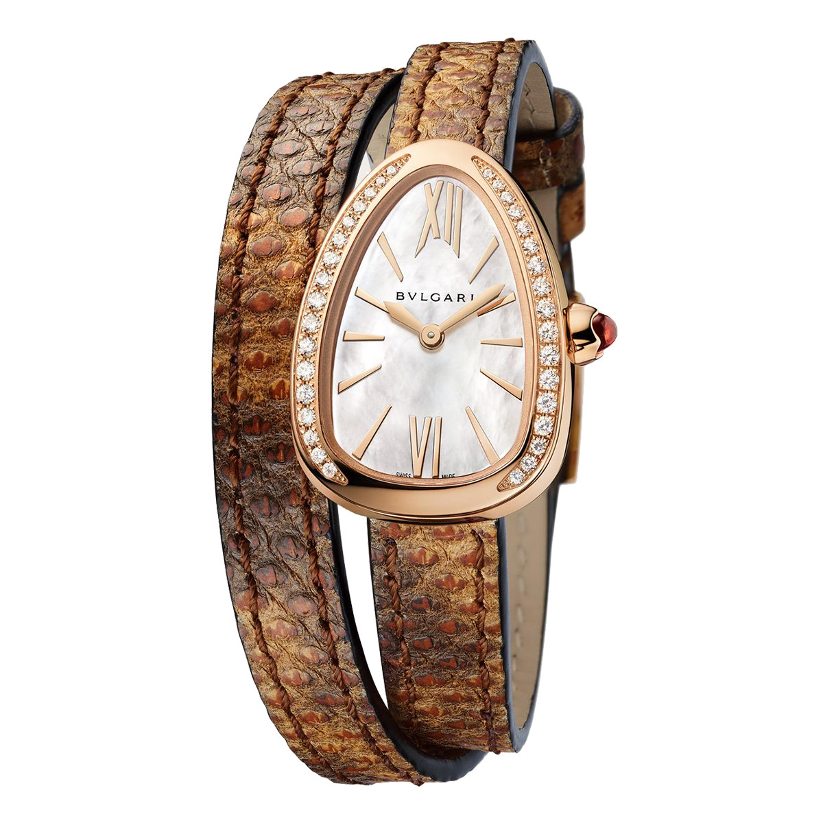 Serpenti Rose Gold & Diamonds (102727)