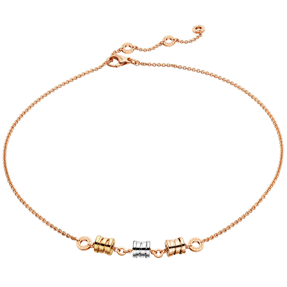 "18k Tri-Color Gold ""B.Zero1"" Necklace"