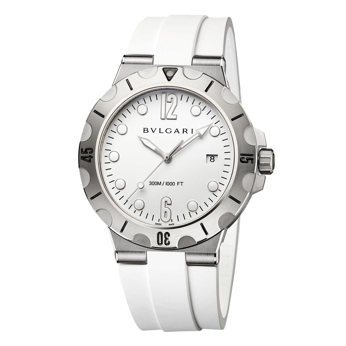 Diagono Scuba White Steel (102733)
