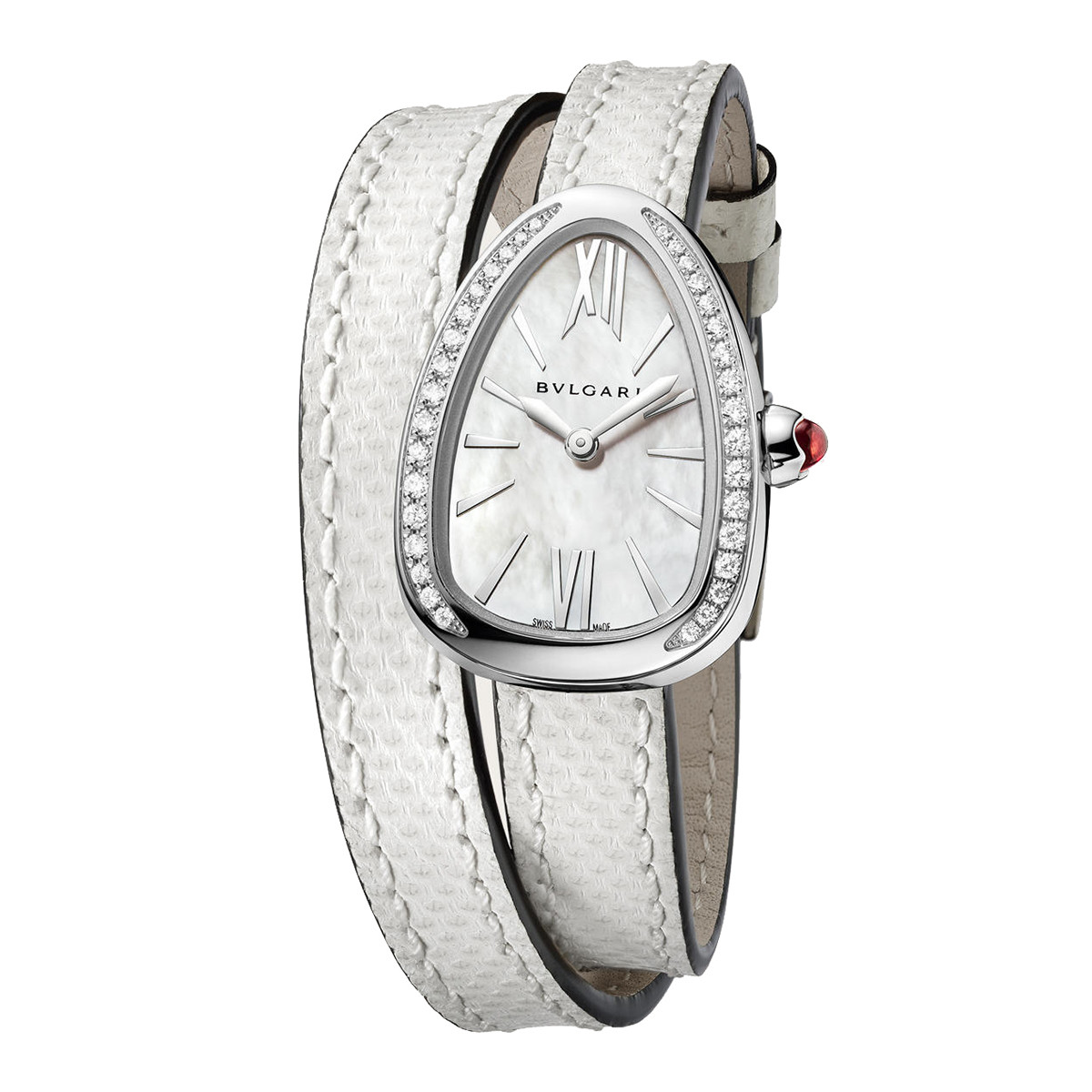 Serpenti Steel & Diamonds (102781)