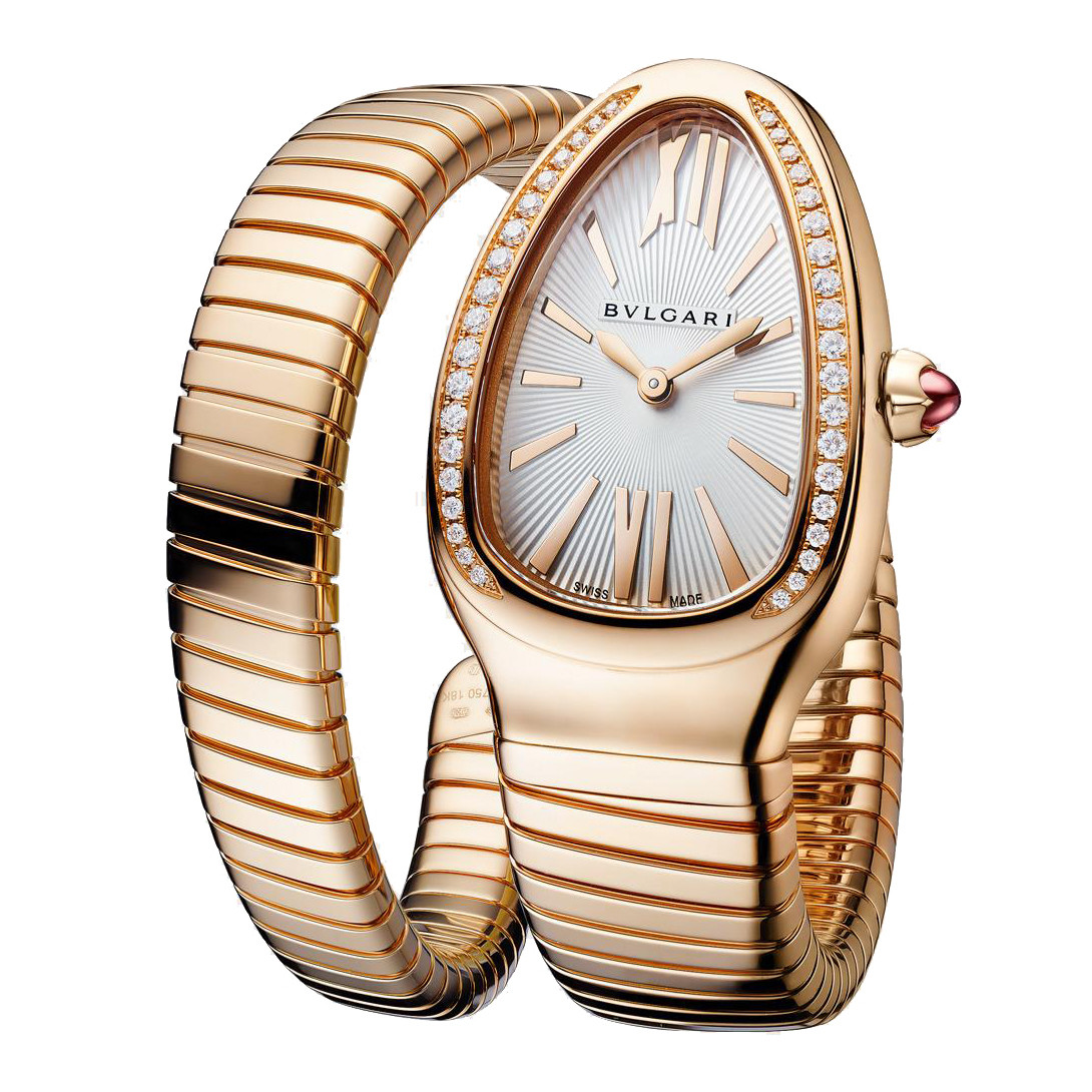 Serpenti Tubogas Rose Gold & Diamonds (103003)