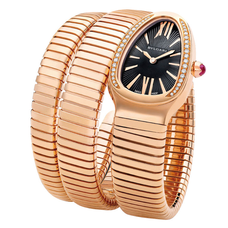 Serpenti Tubogas Pink Gold & Diamonds (101814)
