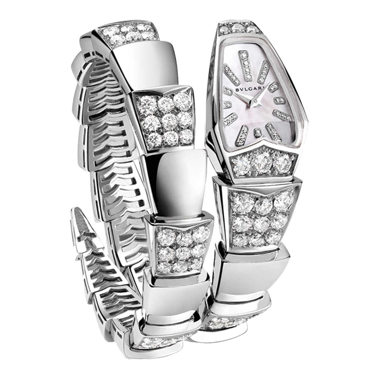 Serpenti Scagile White Gold & Diamonds (101787)