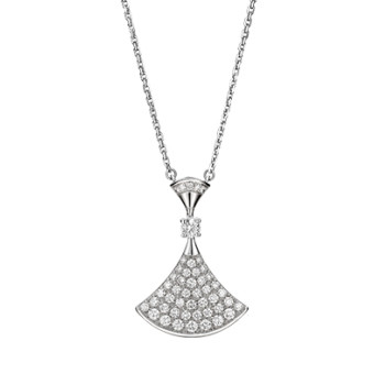 "Pavé Diamond ""Divas' Dream"" Pendant Necklace"