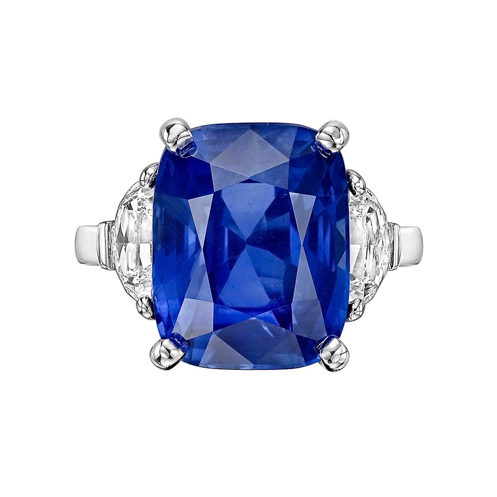 ring edwardian sapphire diamond flaxman burmese engagement img rings