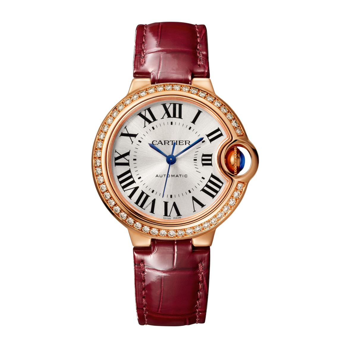 Ballon Bleu 33mm Rose Gold & Diamond (WJBB0033)