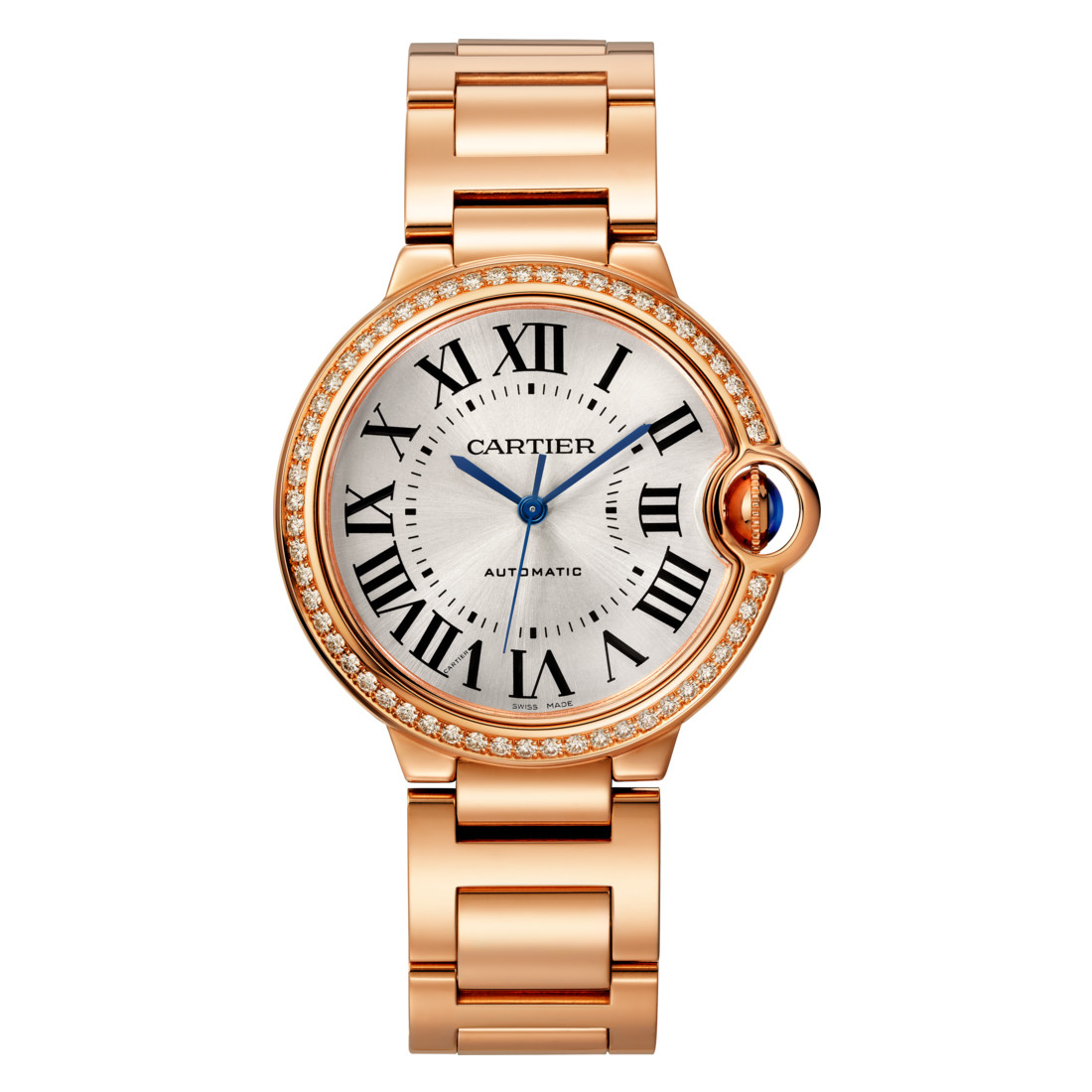 Ballon Bleu 36mm Rose Gold & Diamond (WJBB0037)