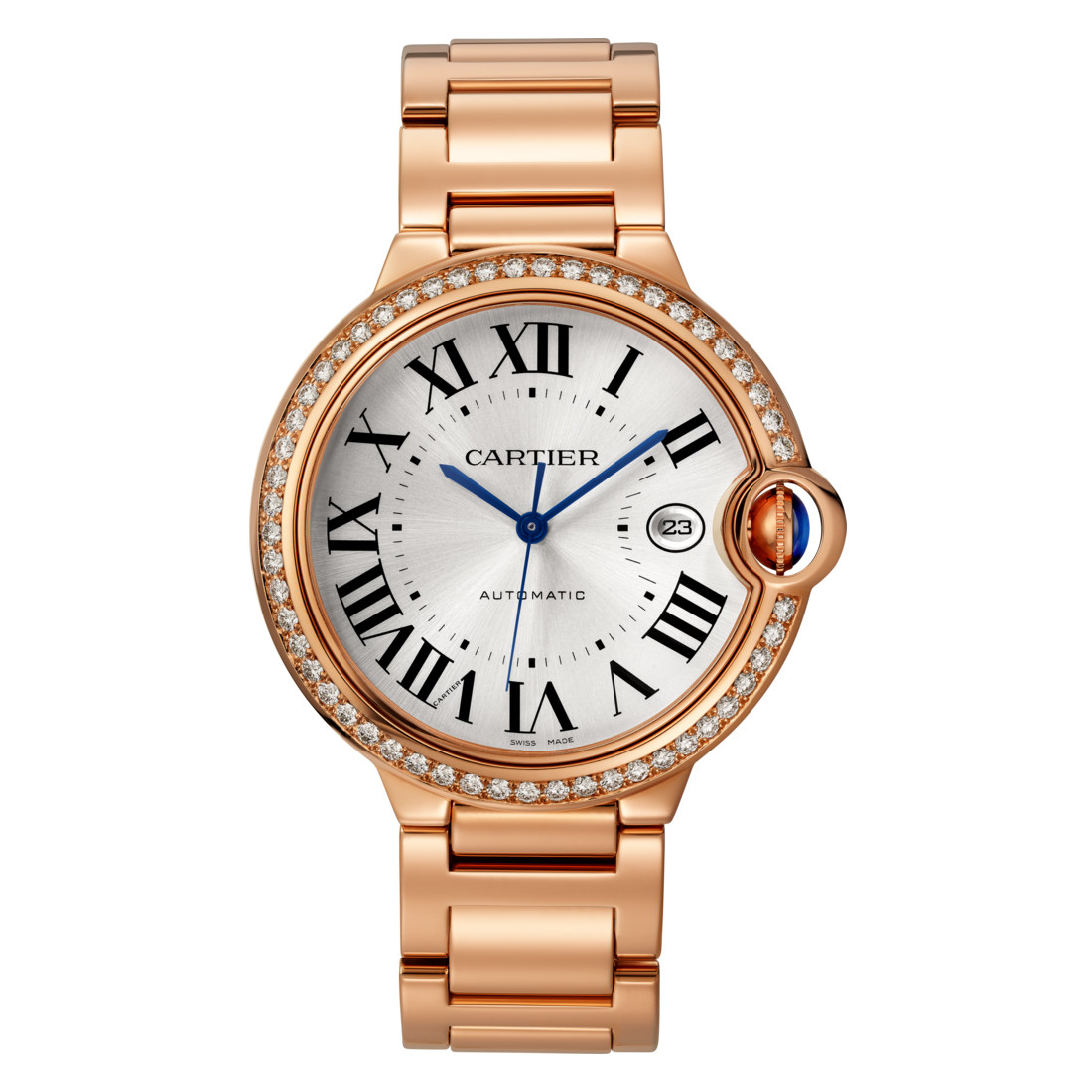 Ballon Bleu 42mm Rose Gold & Diamond (WJBB0038)