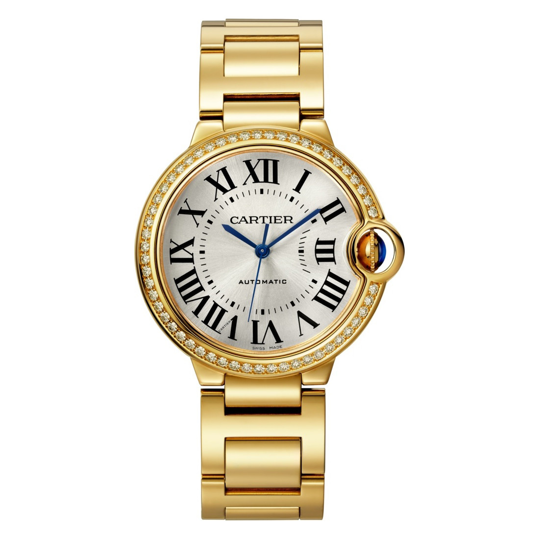 Ballon Bleu 36mm Yellow Gold & Diamonds (WJBB0043)