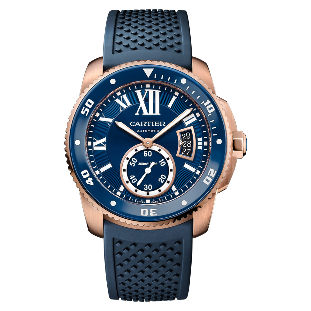 Calibre Diver Blue Rose Gold (WGCA0010)