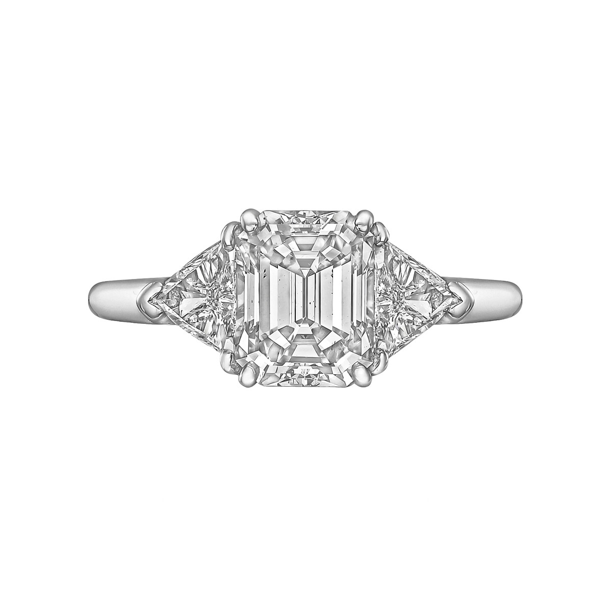 1.63ct Emerald-Cut Diamond Ring (E/VS2)