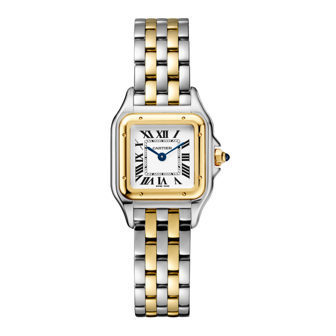 Panthère Small Steel & Yellow Gold (W2PN0006)