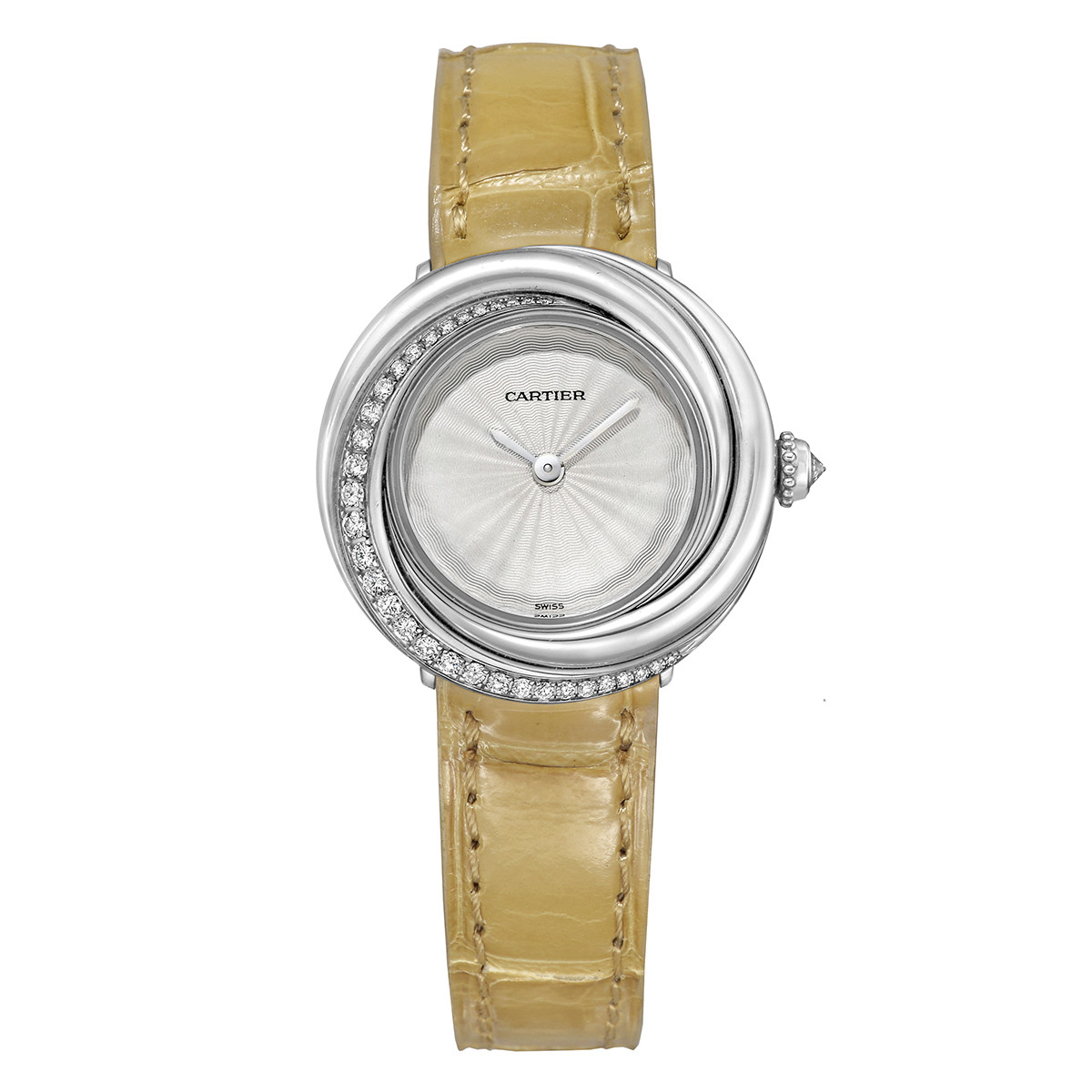 Trinity White Gold & Diamond Wristwatch