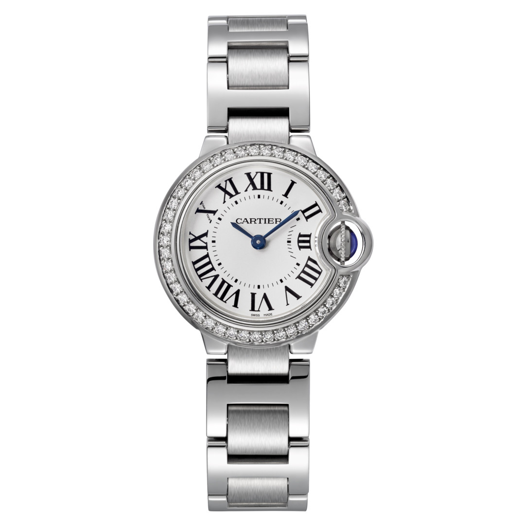 Ballon Bleu 28mm Steel & Diamond (W4BB0015)