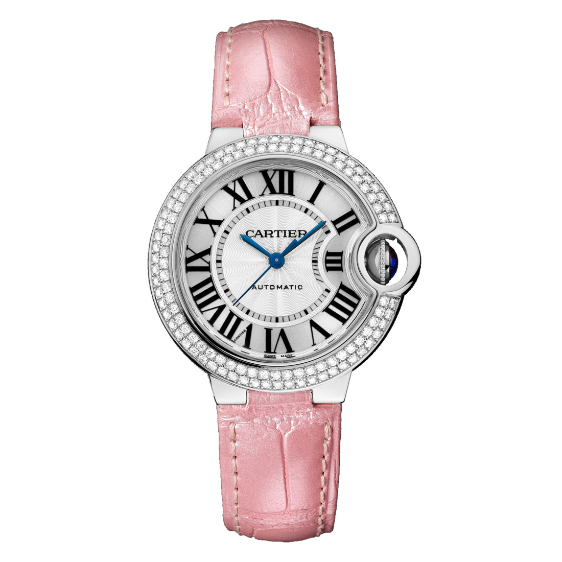 Ballon Bleu 33mm White Gold & Diamond (WE902067)