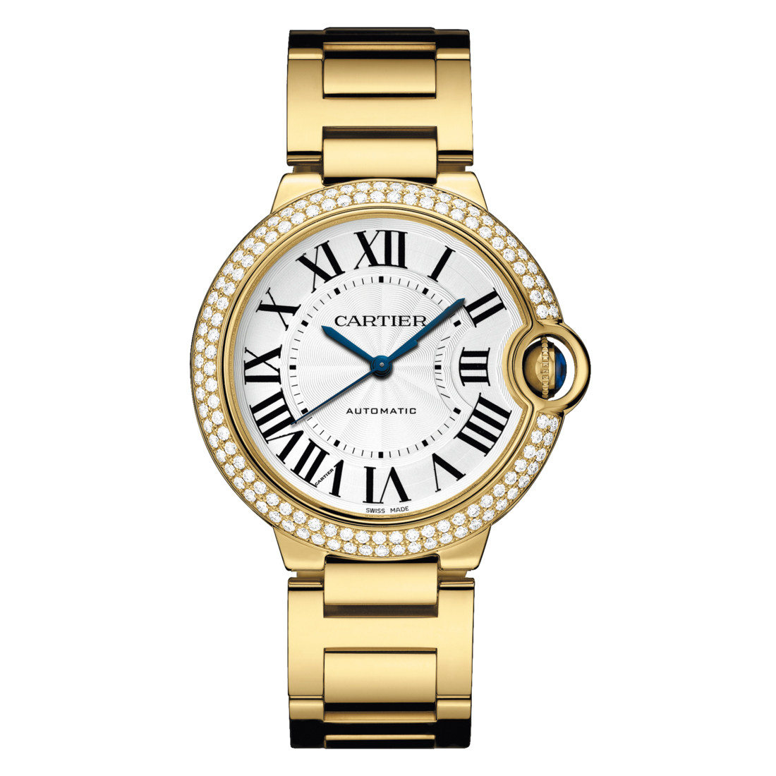 Ballon Bleu 36mm Yellow Gold & Diamond (WJBB0007)