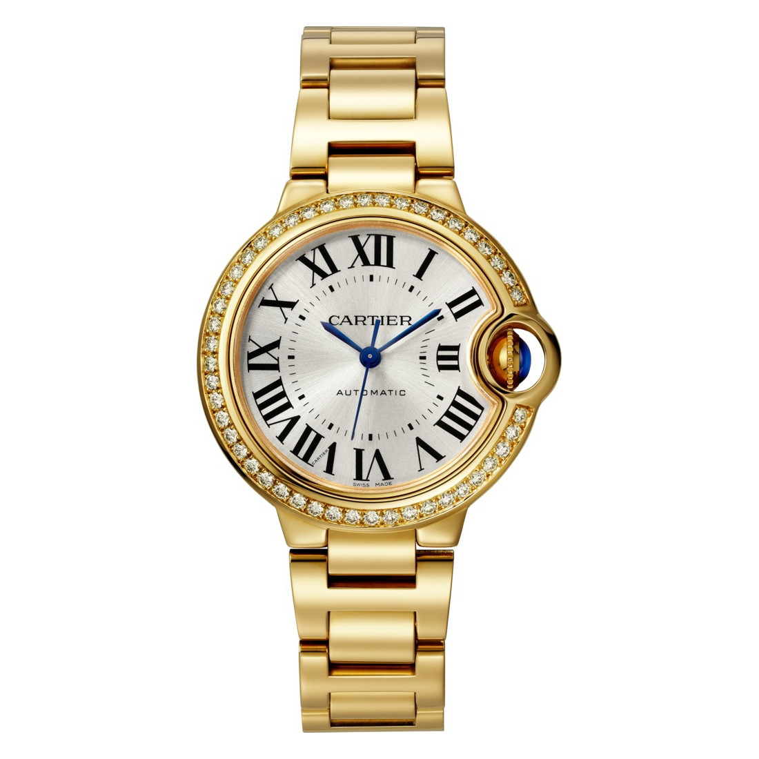 Ballon Bleu 33mm Yellow Gold & Diamond (WJBB0042)