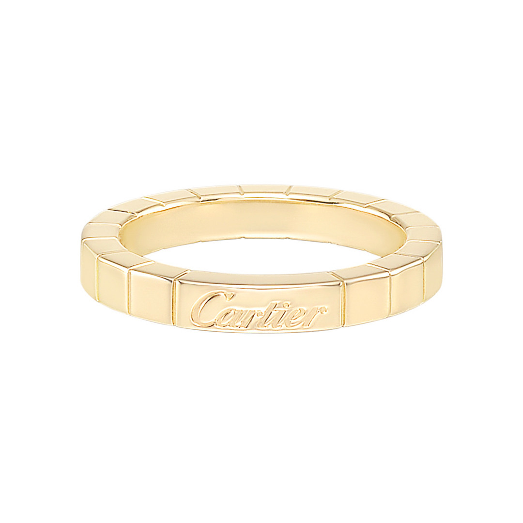 "18k Yellow Gold ""Lanières"" Band Ring"