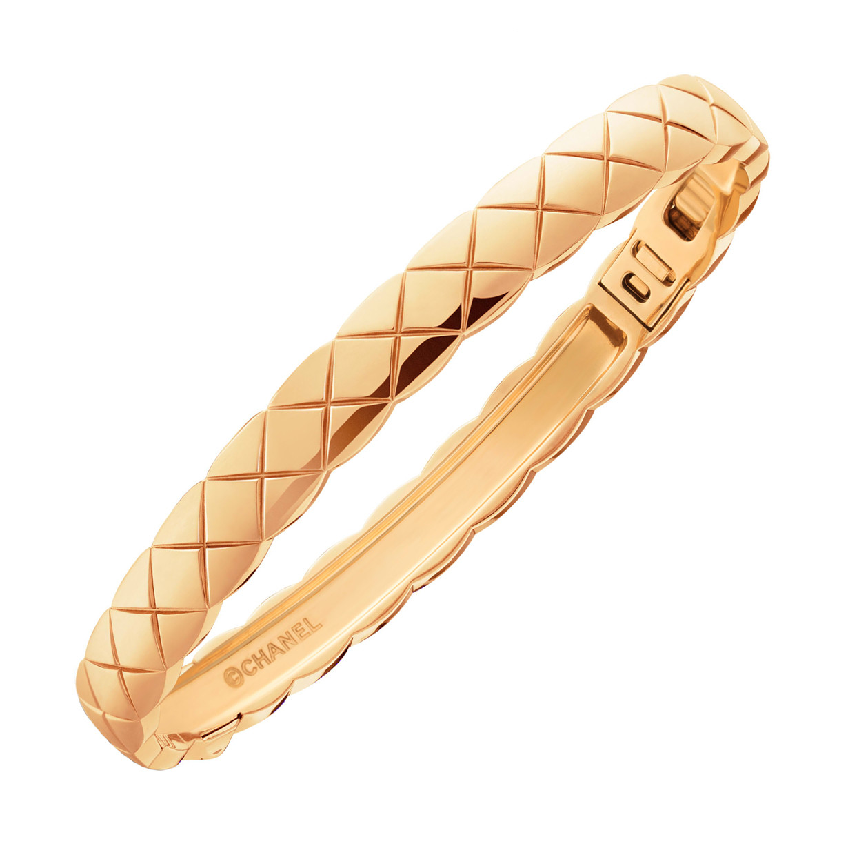 "18k Beige Gold ""Coco Crush"" Bangle Bracelet"