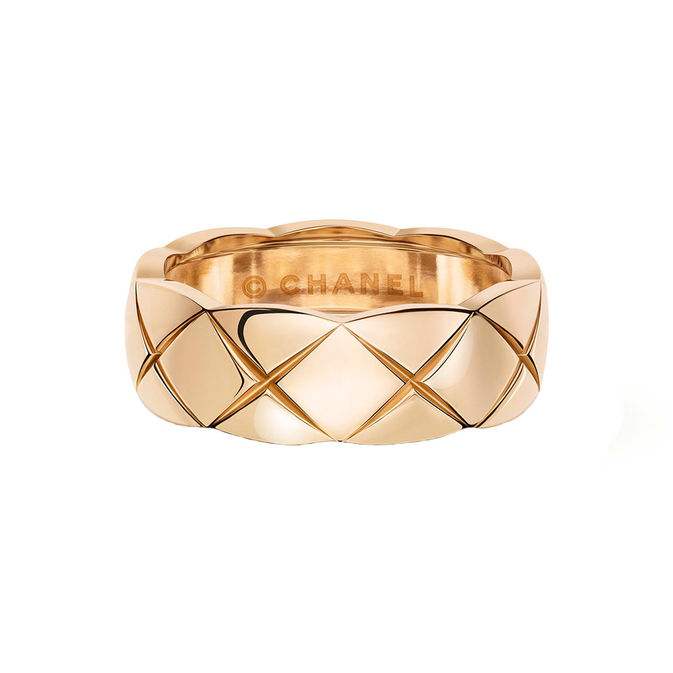 "18k Beige Gold ""Coco Crush"" Small Band"