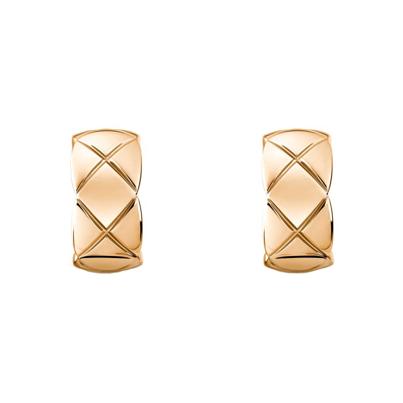 "18k Beige Gold ""Coco Crush"" Earrings"