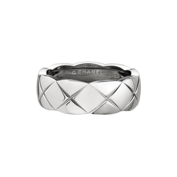 "18k White Gold ""Coco Crush"" Small Band"