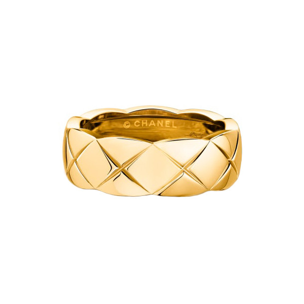 "18k Yellow Gold ""Coco Crush"" Small Band"