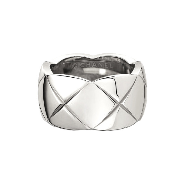 "18k White Gold ""Coco Crush"" Wide Band"
