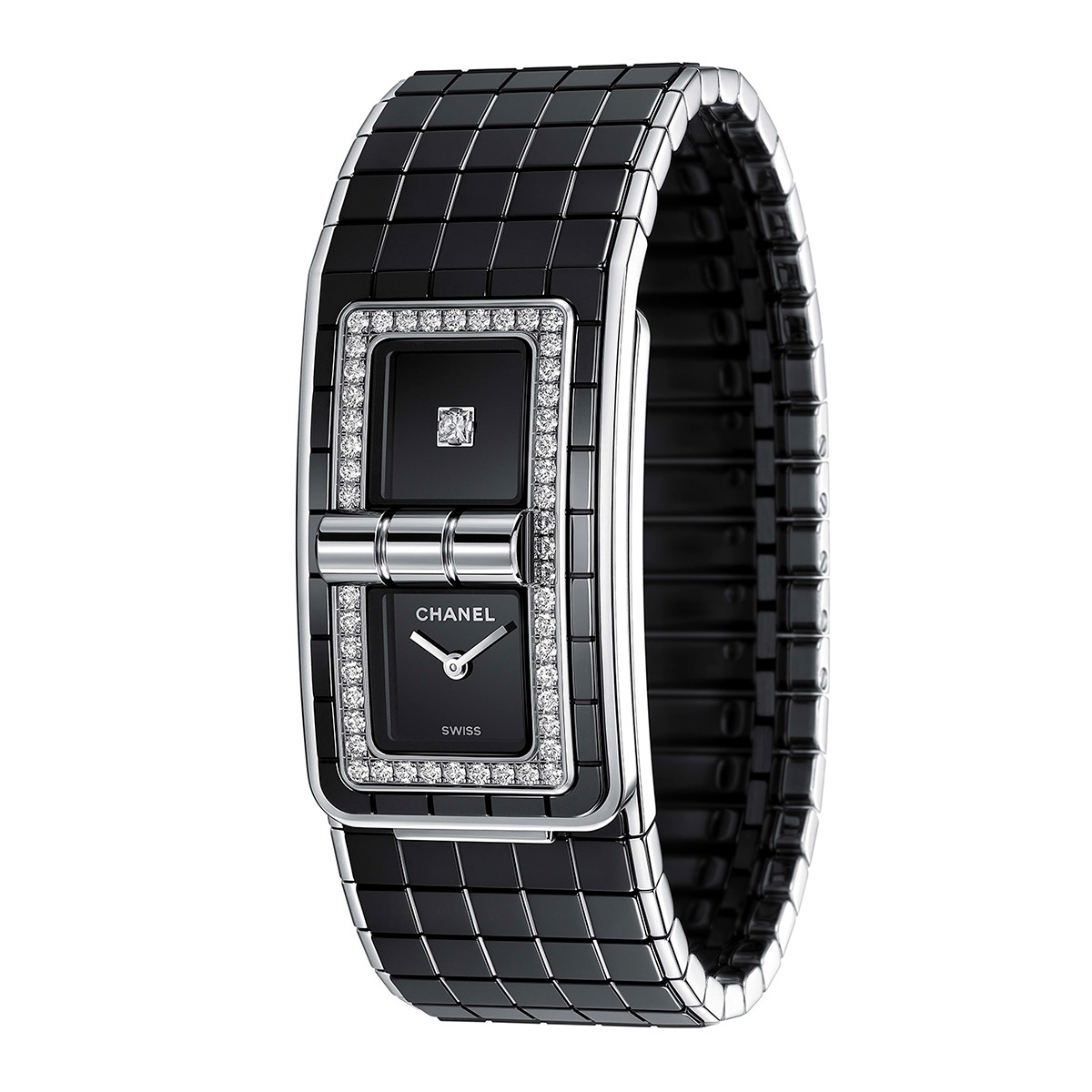 Code Coco Black Ceramic & Diamonds (H5148)
