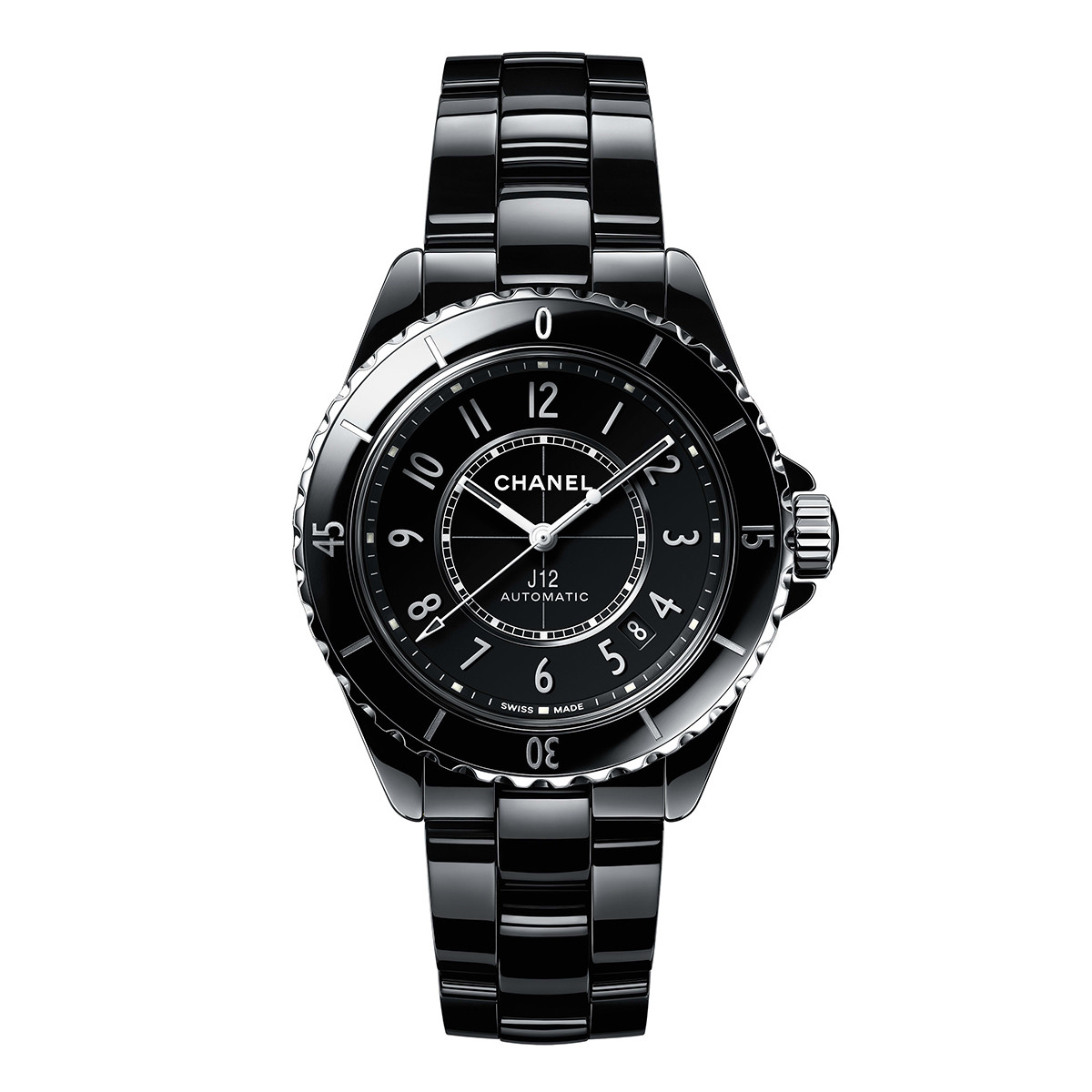 J12 38mm Black Ceramic (H5697)