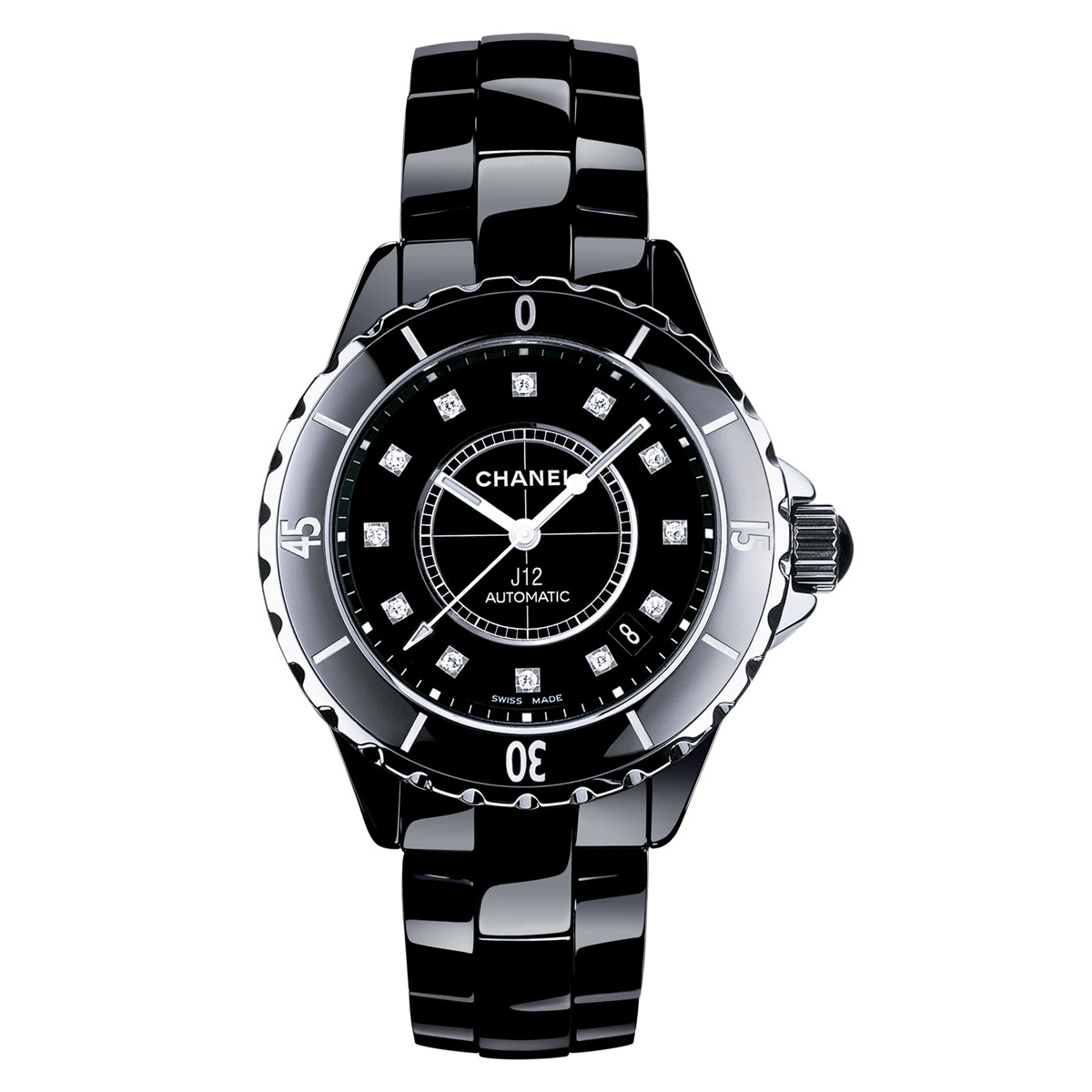 J12 38mm Black Ceramic (H1626)