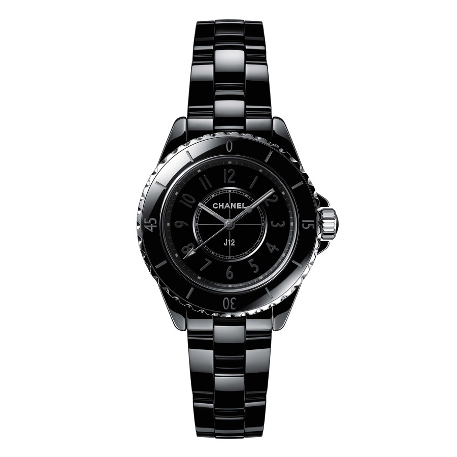 "J12 33mm ""Phantom"" Black Ceramic (H6345)"