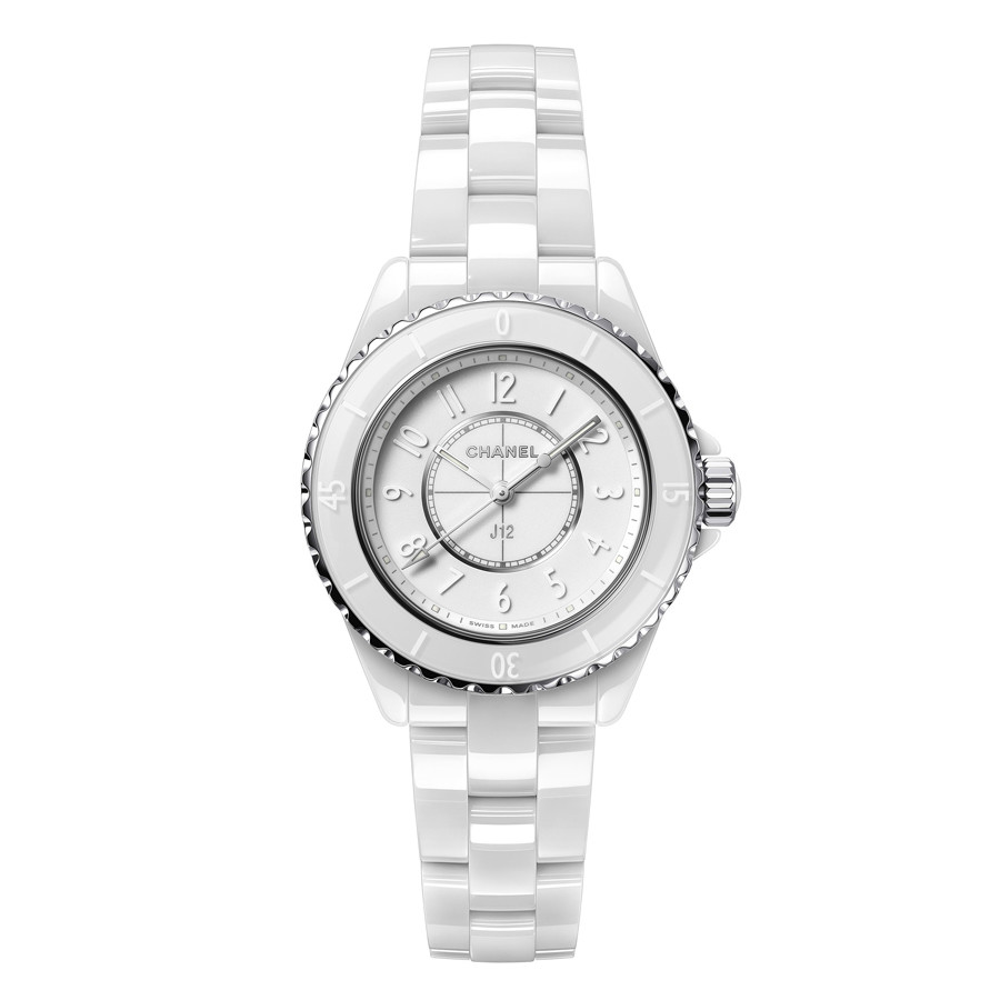 "J12 33mm ""Phantom"" White Ceramic (H6345)"