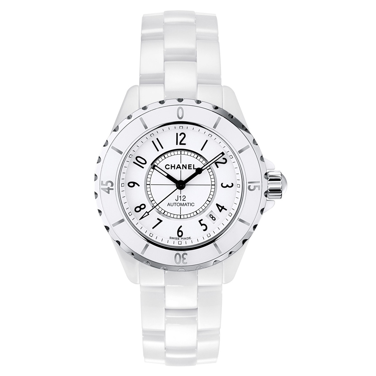 J12 38mm White Ceramic (H0970)