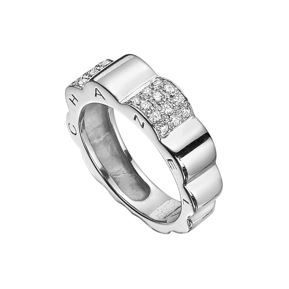 a j the set id bridal engagement of in form white gold camellia flower an chanel rings jewelry at diamond l img with ring