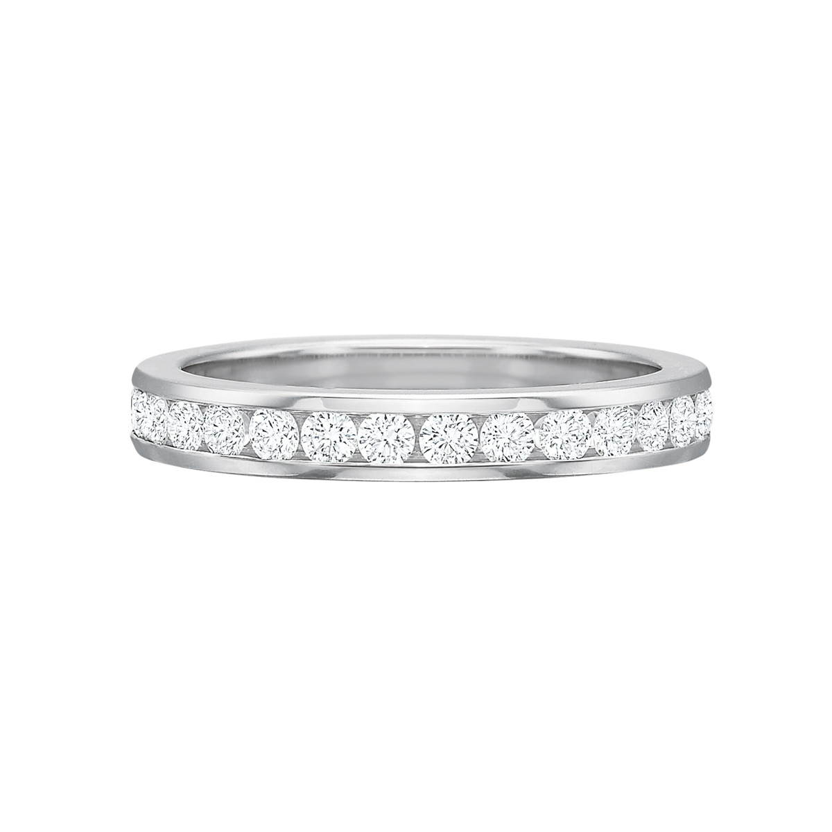 Channel-Set Diamond Eternity Band (1.00ct tw)