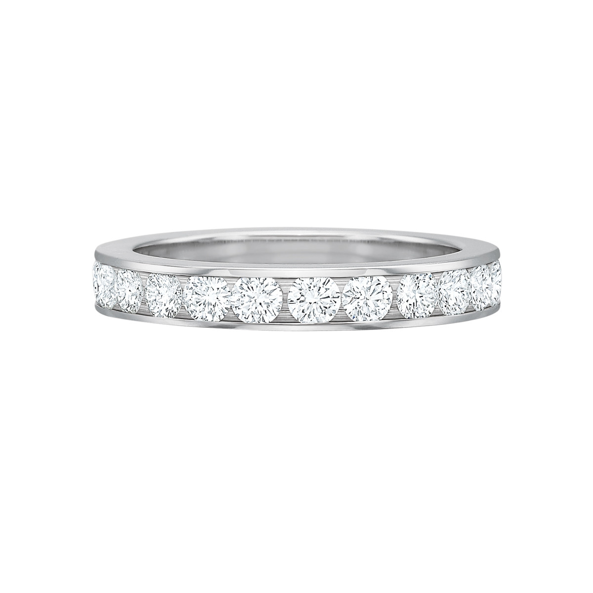 Channel-Set Diamond Eternity Band (1.50ct tw)