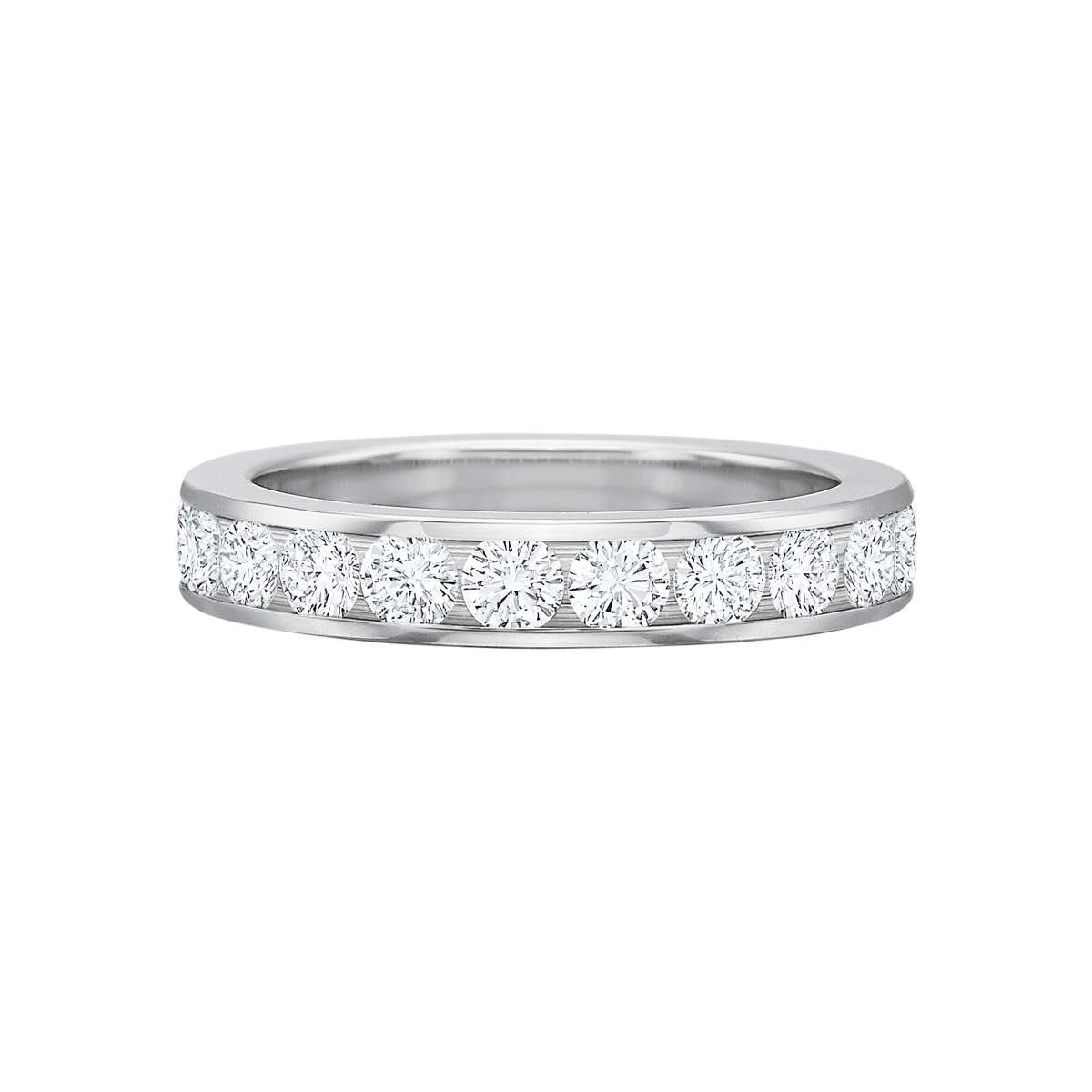 Channel-Set Diamond Eternity Band (2.00ct tw)