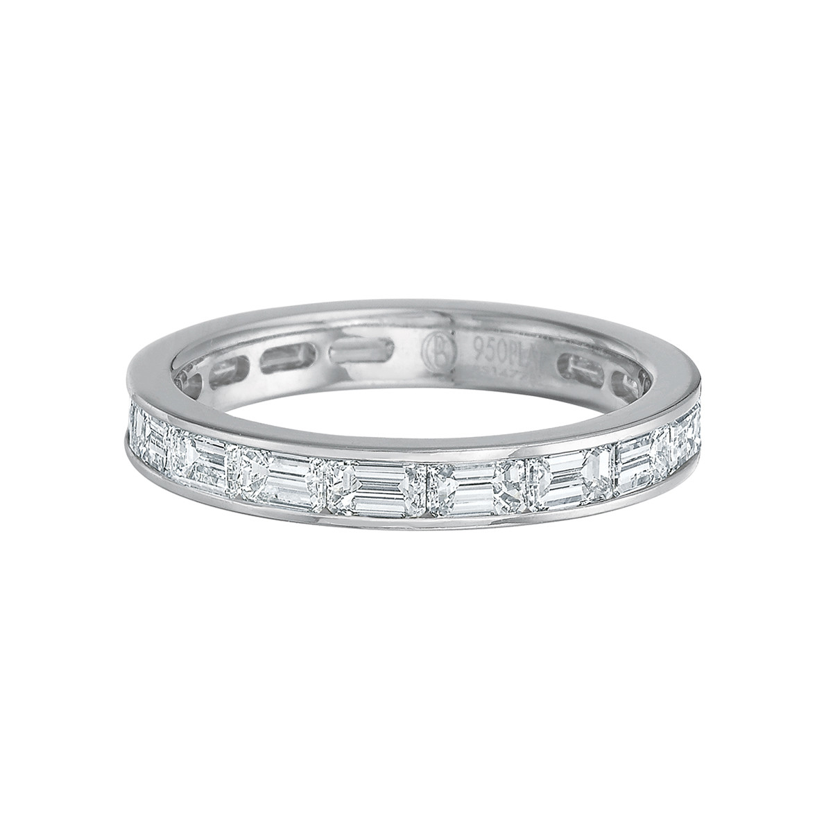 Emerald-Cut Diamond East-West Eternity Band (2.20ct tw)